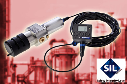 IRmax Infra-Red Hydrocarbon Gas Detector Certified to SIL 2