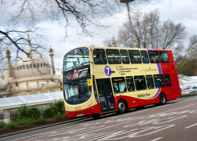 Bus Company Works Towards a Cleaner Environment