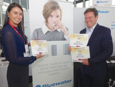 Water Purifier Wins Prestigious International Innovation And Design Award At Europe's Biggest Tech Show, IFA Berlin 2015