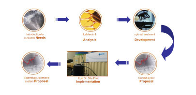 Ecological solution for wastewater treatment