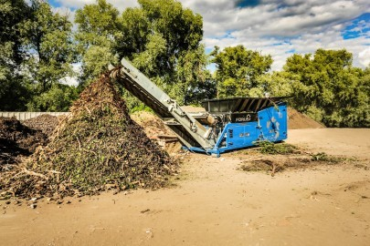 Screening and Shredding Technology from Eggersmann for Processing Wood and Bio-waste
