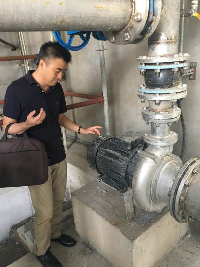Praise for China's Wastewater Treatment as Landia Wins More Pump Business