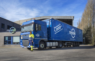Renewi Rebrands 1000 Trucks and 100 Sites