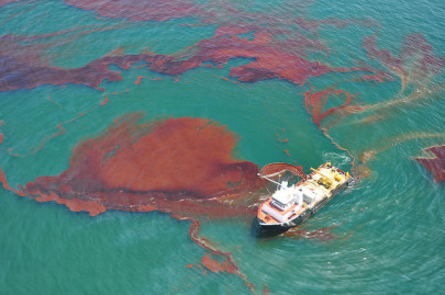 Is the Sun Prolonging the Effects of Deepwater Horizon?