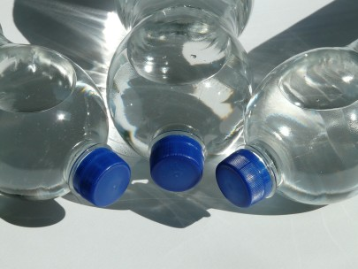 Highlighting Water Pollution with 10,000 Plastic Bottles