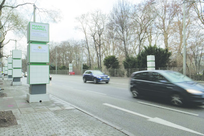 Filter Cubes at the Neckartor traffic junction in Stuttgart now also reduce concentration of nitrogen dioxide