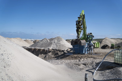 Large-scale tests of sand treatment plant at Danish landfill show convincing results
