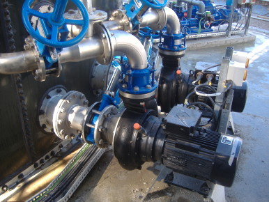 Pumps and mixers help treat potato processing effluent